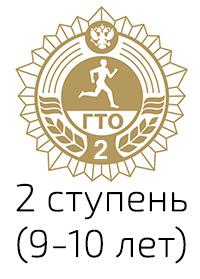 Нормативы ГТО 2 ступень (9-10 лет)